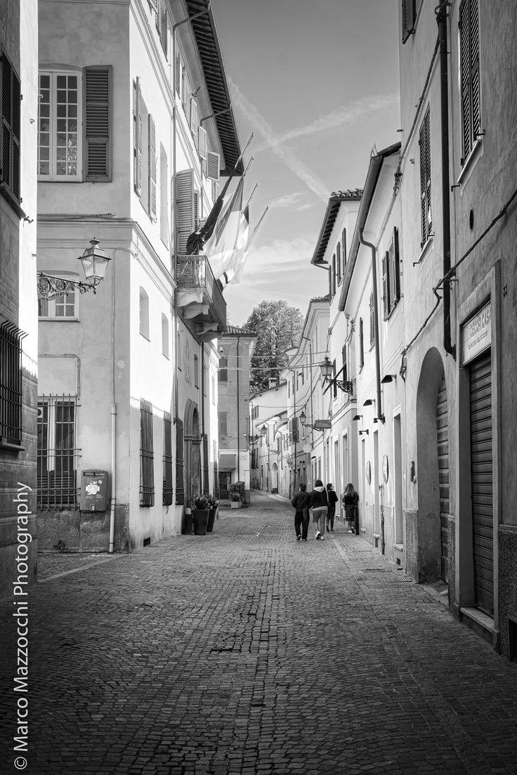 Novi Ligure, Via Paolo Giacometti