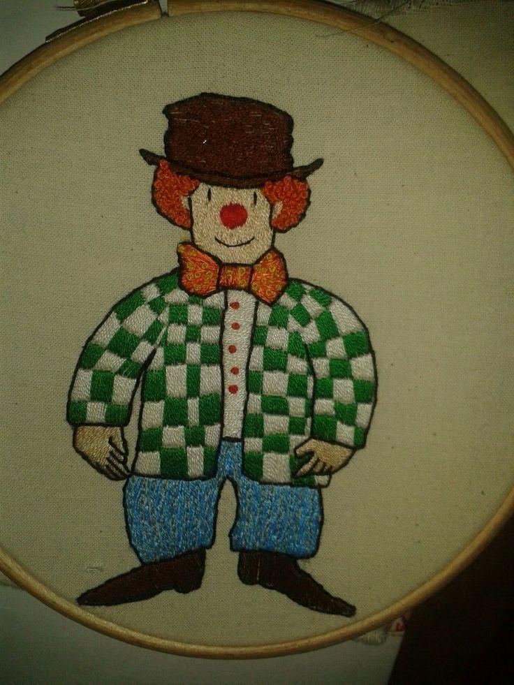 Mr Benn clown