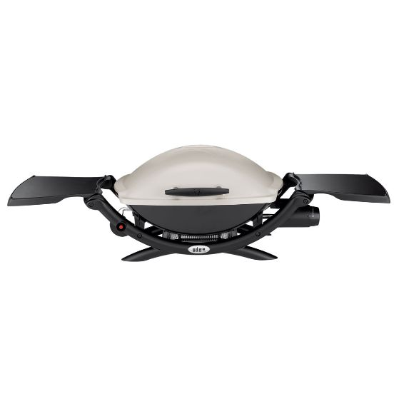 Myer - Weber Q2000 Q LP Gas Barbecue: 53060024 Black/Silver, $389.00