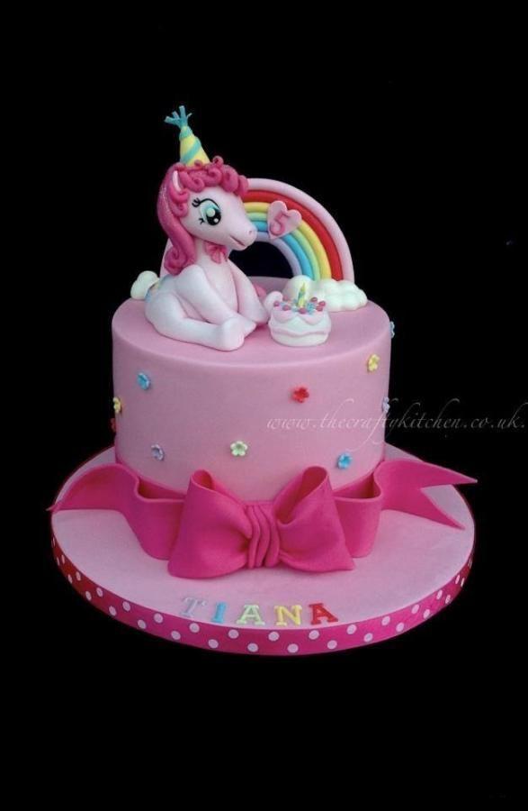My Little Pony - Pinkie Pie - Cake by The Crafty Kitchen - Sarah Garland