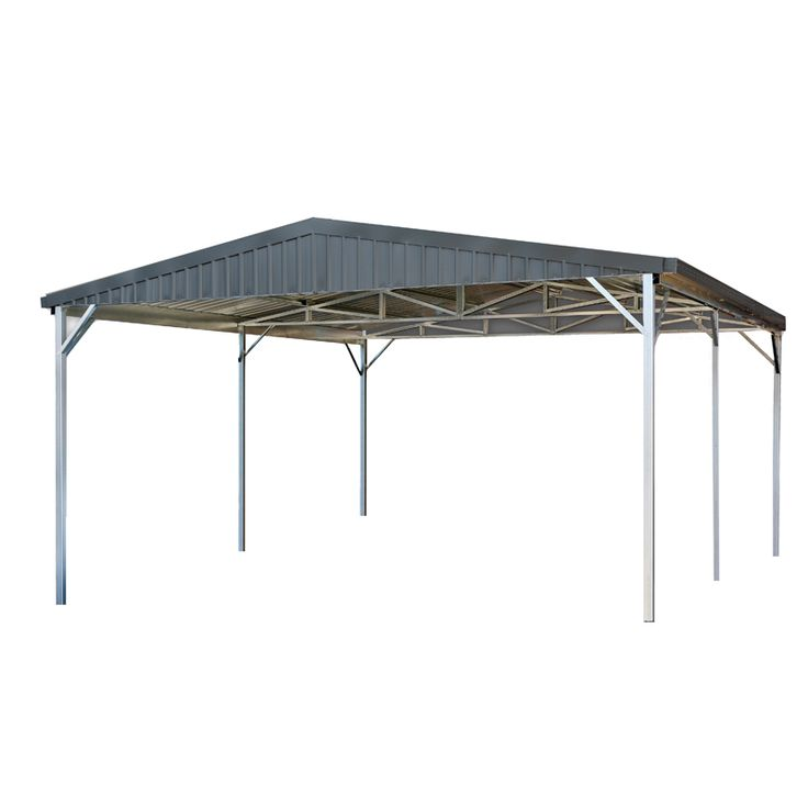 Best 25 double carport ideas on pinterest carports uk for Gable roof carport