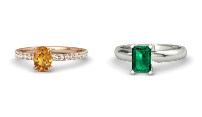 10 anillos de compromiso alternativos, perfectos para chicas no convencionales.