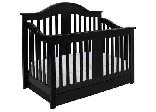 $449 @ Baby Shack - Davinci Furniture - Cameron+4-in-1+Convertible+Crib+with+Toddler+Rail