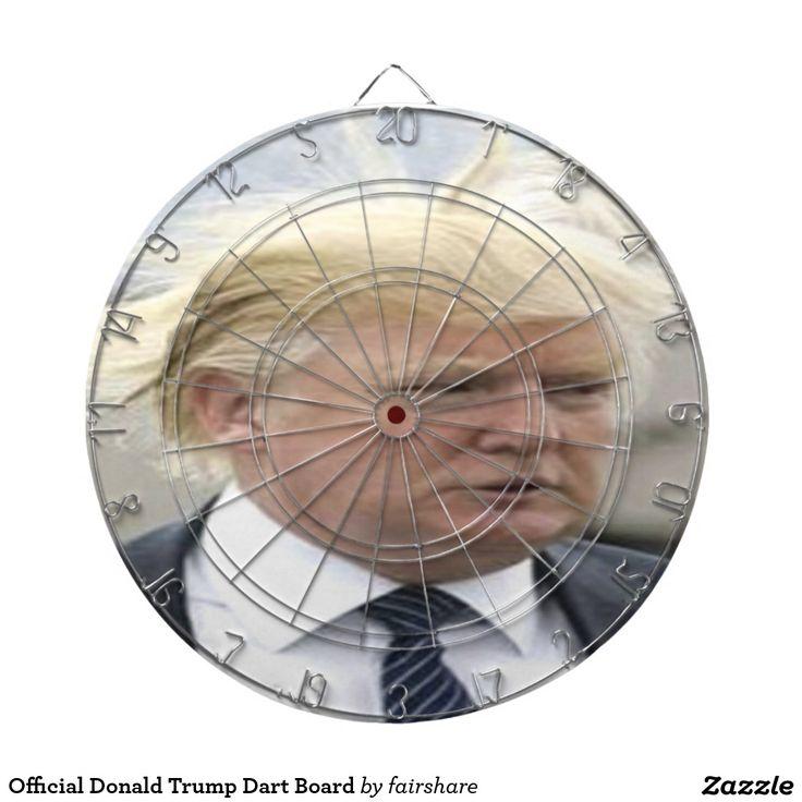 Official Donald Trump Dart Board