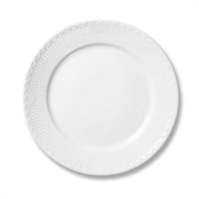 "Royal Copenhagen White Half Lace 6.75"" Bread and Butter Plate - 1128617"