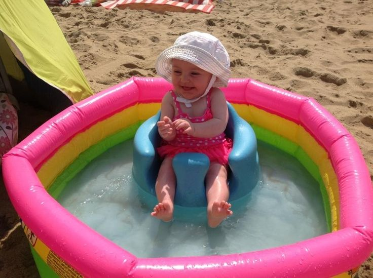 Hoping Oliver will be big enough for the Bumbo at our beach trip