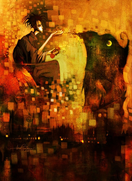 The Sandman by Javier Gonzalez Pacheco