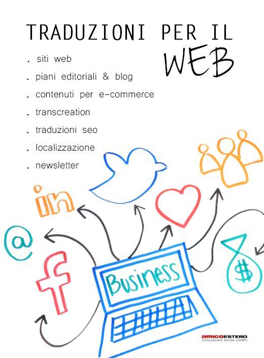 TRADUZIONI PER IL WEB #amicoestero #traduzioniweb #internazionalizzazione #translations #web #traduzionitreviso