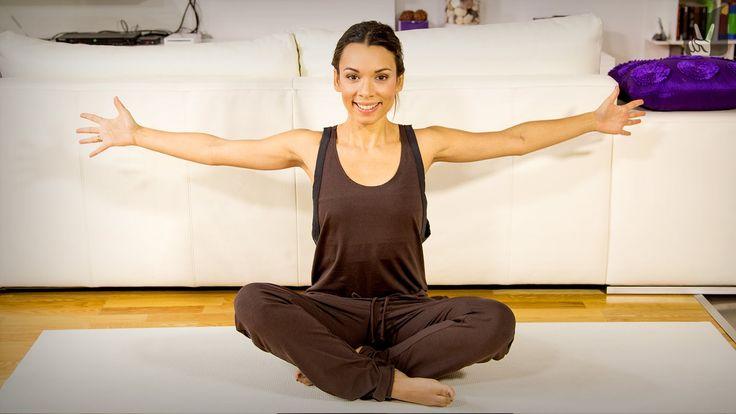 Yoga Rückbeugen für Anfänger: Workout für den Rücken mit Amiena Zylla!