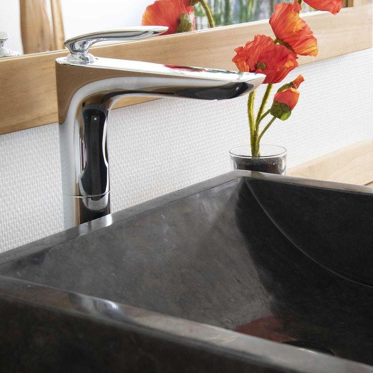 Vasque Kiara En Marbre – Taille : Taille Unique
