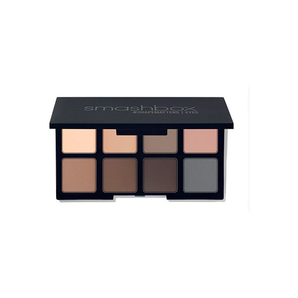 smashbox Photo Matte Eyes Mini Palette ($24) ❤ liked on Polyvore featuring beauty products, makeup, eye makeup, eyeshadow, beauty, belleza, smashbox eyeshadow, smashbox eye makeup, smashbox eye shadow and eye brow makeup