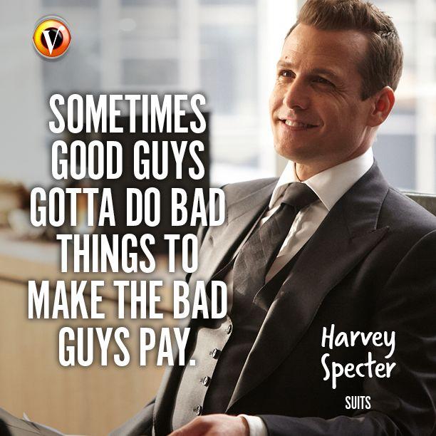 suits meet harvey specter quote