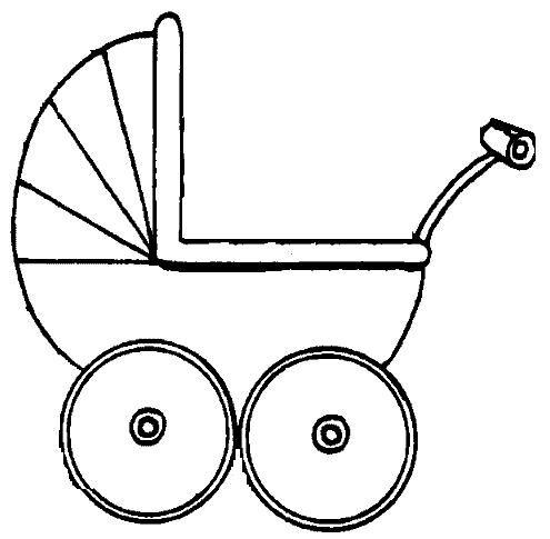 kleurplaat kinderwagen zoeken kinderwagen baby