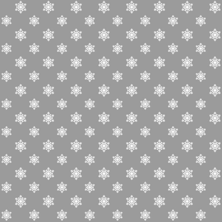 free printable grey snowflake patterned gift wrap paper