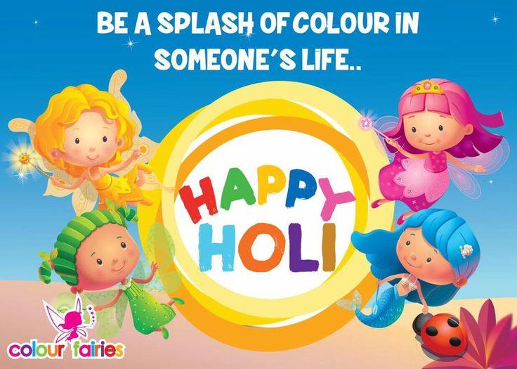 #HappyHoli #Fairies #FestivalofColours