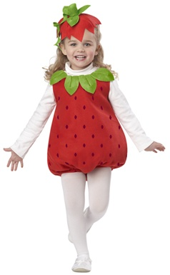 Toddler Girls Strawberry Costume