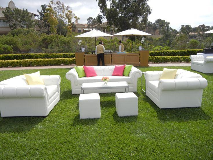 White Lounge Furniture Simple Inspiration