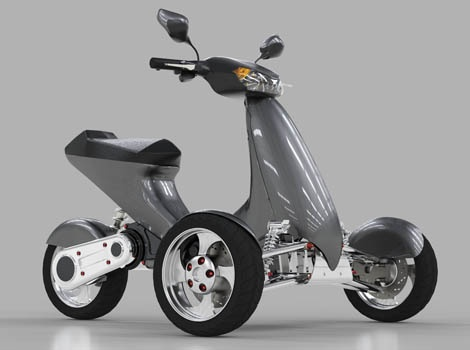 Electric Scooter Bike >> Pin by Allan Harmsworth on ebikes and bicycles | Electric ...
