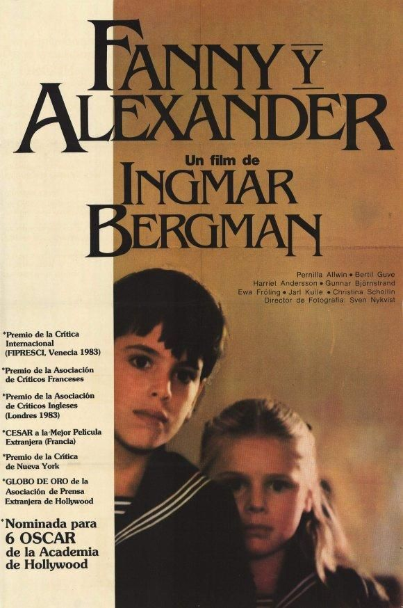 Ingmar Bergman - Fanny and Alexander 1982.  Growing up in the theatre.
