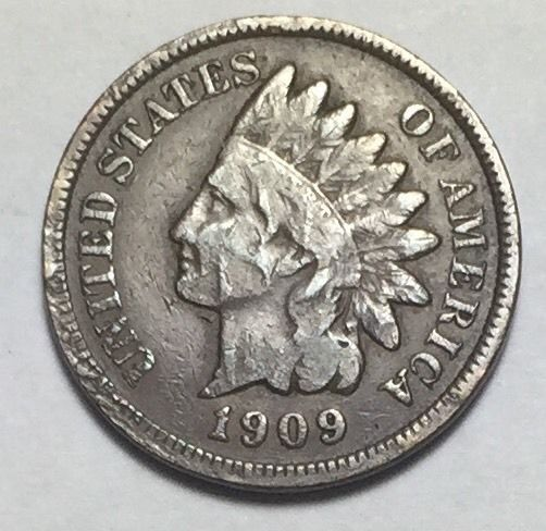 1909 Indian Head Penny.  *KEY DATE*  Take a LOOK!