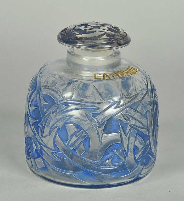 Rene Lalique Perfume Bottle Epines