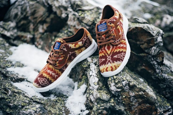 Wear me I am ready for the winter. Vans x Pendleton: http://www.footshop.eu/en/mens-shoes/6020-vans-x-pendleton-iso-2-pendleton-brown.html  #vans #footshop