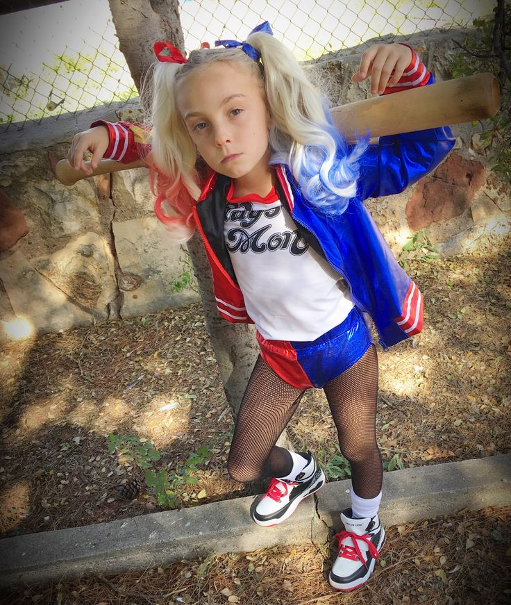 Harley Quinn Suicide Squad child's costume