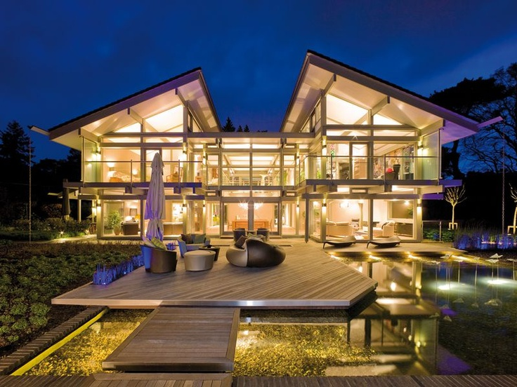 What About Looking At Prefab? Prefab Homes Donu0027t Necessarily Need To Be  Small Or Medium Sized Houses. The Prefabricated Pilot Model Of The Huf Haus  Is Huge! ...