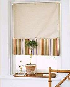 Button-Up Window Shade | Step-by-Step | DIY Craft How To's and Instructions| Martha Stewart