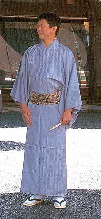 Мужская японская одежда. Кимоно. (С) Ольга Хованчук, 2004