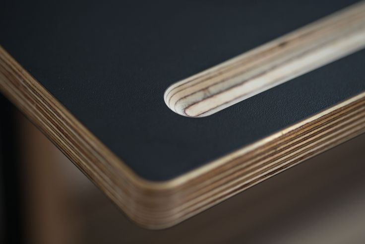 A Desk Black by ByAlex, Close up 2