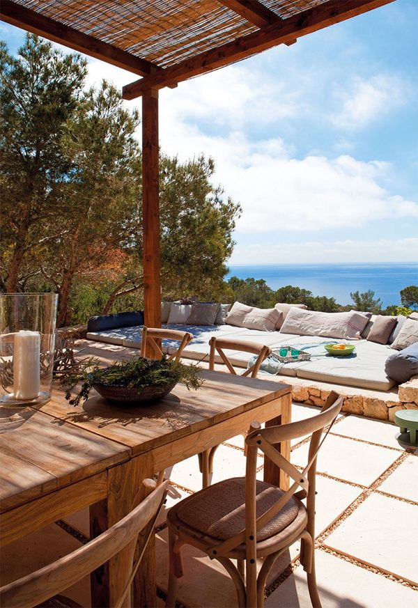 A STUNNING SEA VIEW VILLA ON FORMENTERA, SPAIN | THE STYLE FILES