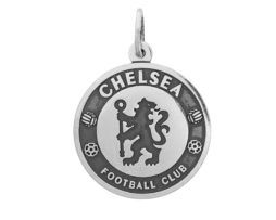 """Серебряный подвес""""Chelsea"""" Выполнен из стерлингового серебра 925 пробы Изделие ручной работы, двухсторонние"""