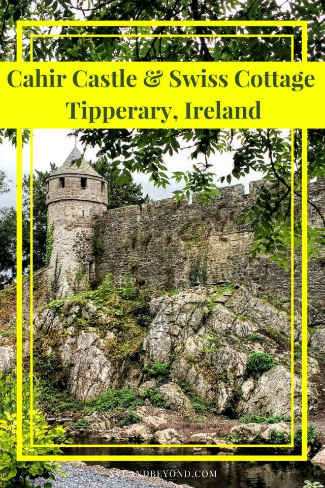 Cahircastle is one of the best preserved of medieval castles in Ireland and a 2km walk away is the romantic Swiss Cottage #Ireland #castlesinireland #swisscottage #architecture #castles #Tipperary
