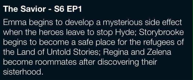 Awesome synopsis of #Once #S6 E1 #TheSavior #Once #S6 Fall premiere aired Sunday 9-25-16