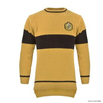 Hufflepuff™ Quidditch™ Knitted Adult Jumper | Hufflepuff™ | Warner Bros Studio Tour London