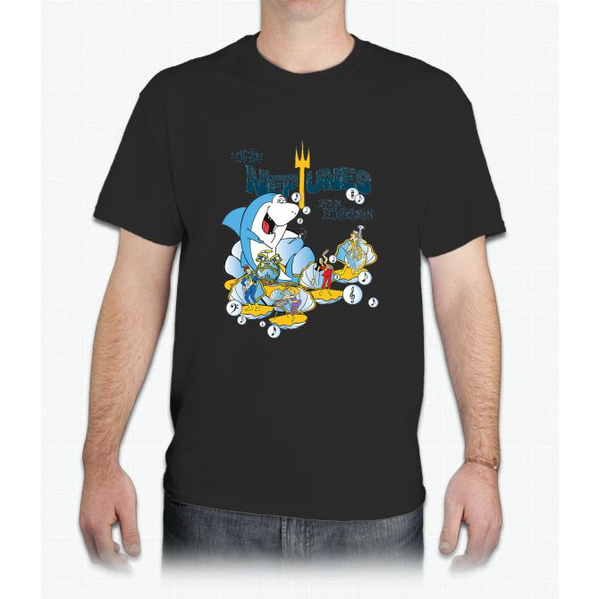 The Neptunes - Live in Hydrostan - Mens T-Shirt