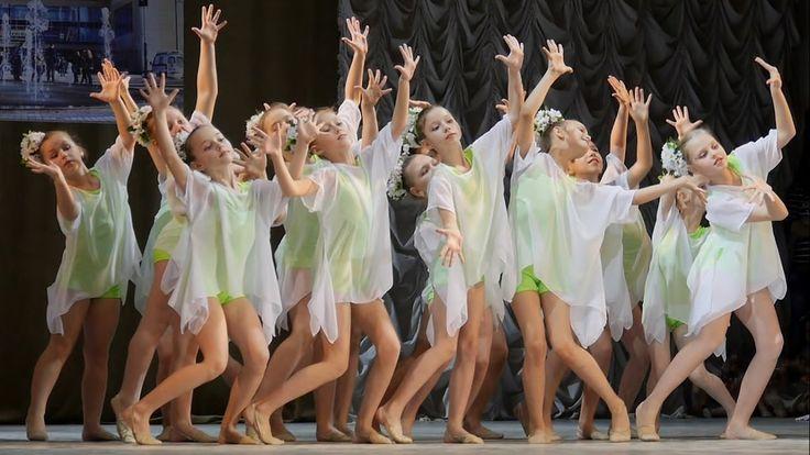 00305 Ромашковые поля Современный танец детский Конкурс Школа танца Ольг...
