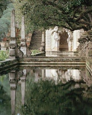 The water gardens of Dorne, built for the first Daenery's Targaryen for whom the silver queen is named.