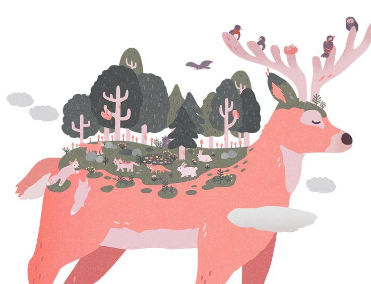 내 @Behance 프로젝트 확인: \u201cSave the Wildlife\u201d https://www.behance.net/gallery/32296795/Save-the-Wildlife