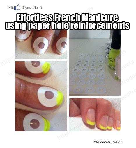 Perfect French Manicure every time! Yes!!!