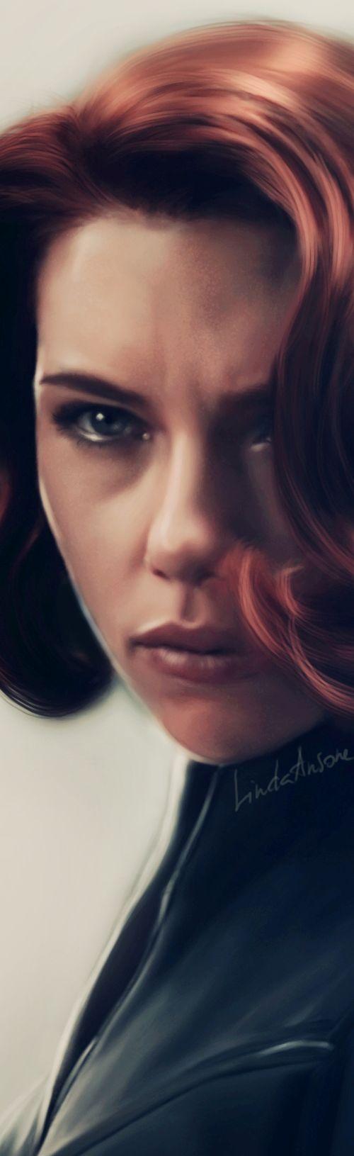 Black Widow - Closeup by LindaMarieAnson.deviantart.com on @deviantART