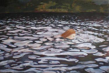 "Saatchi Art Artist June Sira; Painting, ""Bath"" #art"