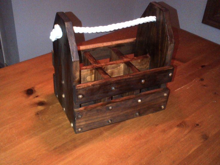 Diy Beer Caddy Wooden How To Instructions Included