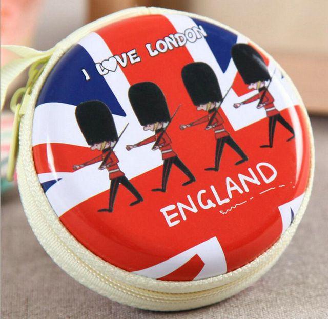 Soldados britânicos quente creative carteira bonito dos desenhos animados coin bolsas caráter mini portátil sacos/casos para meninas & mulheres moeda saco h68