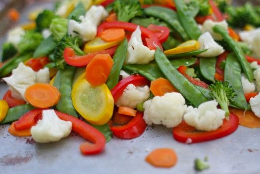 DIY: stir-fry vegetable freezer packages. Blanch and package fresh veggies at the end of summer for all winter long.