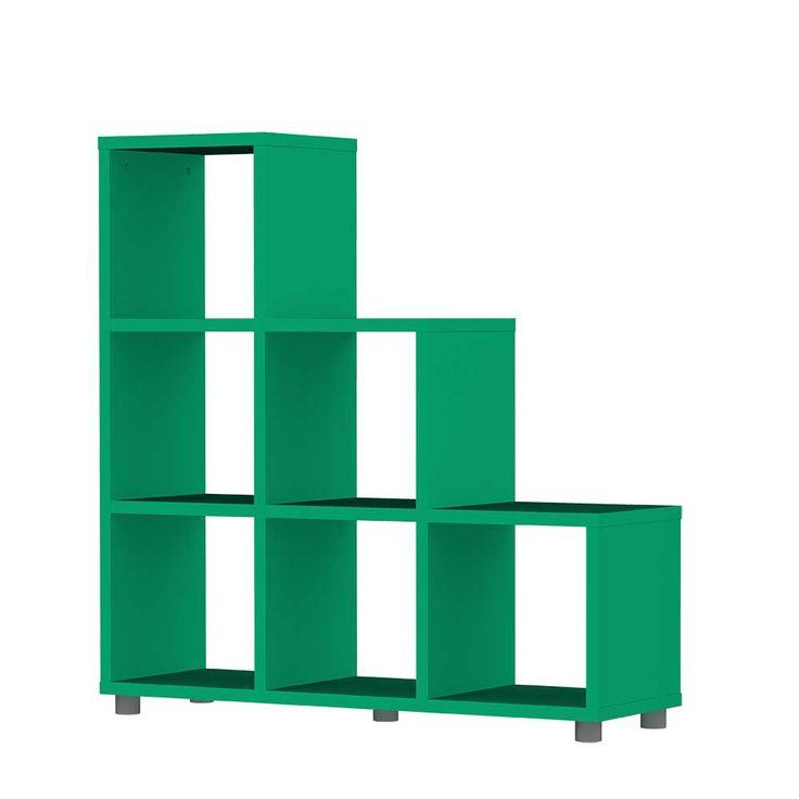 Treppenregal In Grn Modern Jetzt Bestellen Unter Moebelladendirektde Wohnzimmer Regale Raumteiler Uid3cf7a656 Ccad 5ca6 84a3