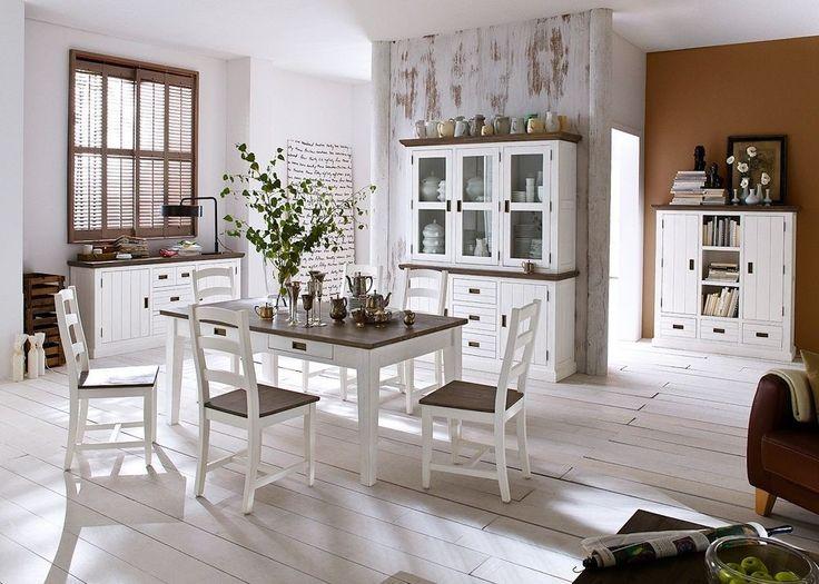 8 besten Esszimmer Bilder auf Pinterest Schöner wohnen, Moderne - wohnzimmer weiß landhausstil