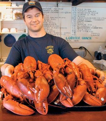"The Lobster Shack's main attraction. (From: Photos: New England's ""Other"" Capes)"