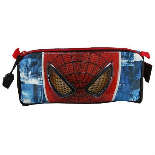 School pencil case with cool design Emersson Superhero Blue and Red color combination $3.00~$5.00